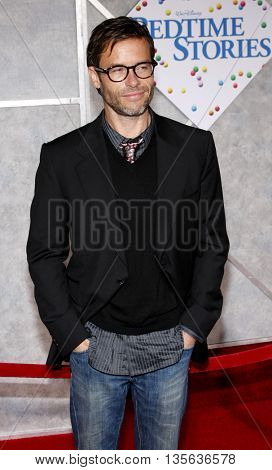 Guy Pearce at the Los Angeles premiere of 'Bedtime Stories' held at the El Capitan Theater in Hollywood, USA on December 18, 2008.