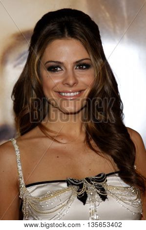 Maria Menounos at the Los Angeles premiere of 'The Curious Case of Benjamin Button' held at the Mann Village Theater in Westwood, USA on December 8, 2008.