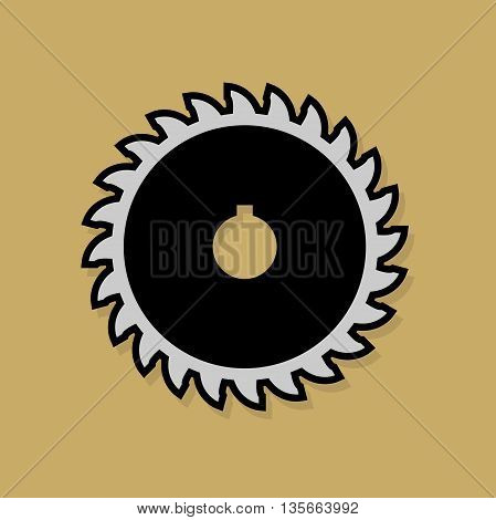 Abstract Tools icon or sign, vector illustration