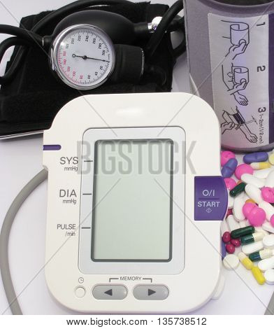 Blood pressure devices-new and old technology and pills