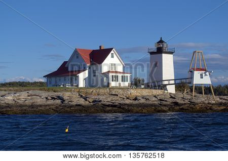 Hendricks Head Lighthouse, Bar Harbor Maine USA