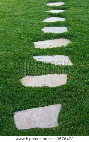 A photo of a pathway - many symbolic uses