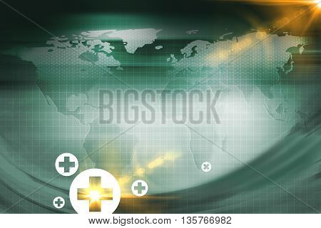 Medical Abstract Background; Abstract Background Suitable for Healthcare and Medical Topic