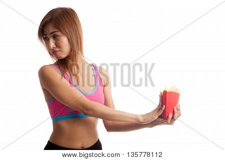 Asian Healthy Girl  Hate French Fries, Junk Food