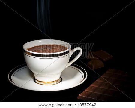 Hot Chocolate Drink Art