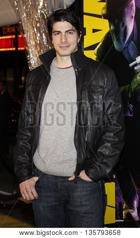 Brandon Routh at the Los Angeles premiere of 'Watchmen' held at the Grauman's Chinese Theater in Hollywood, USA on March 3, 2009.