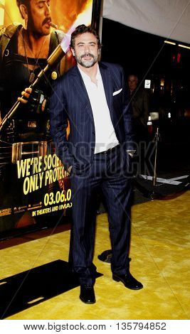 Jeffrey Dean Morgan at the Los Angeles premiere of 'Watchmen' held at the Grauman's Chinese Theater in Hollywood, USA on March 3, 2009.