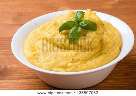 Trarditional Homemade Polenta