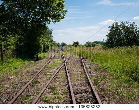 Rusty railroads to abandoned rural train station