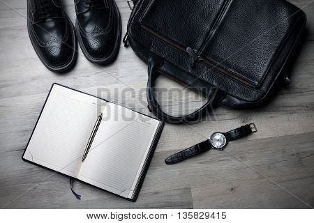 a businessman who presents it in a nice way that business advantages or disadvantages work