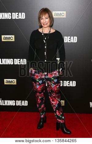 NEW YORK-OCT 9: Gale Ann Hurd attends AMC's 'The Walking Dead' season six premiere at Madison Square Garden on October 9, 2015 in New York City.