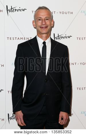 NEW YORK, NY-JUNE 2: Director James Kent attends the