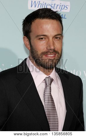 Ben Affleck at the World premiere of 'He's Just Not That Into You' held at the Grauman's Chinese Theater in Hollywood, USA on February 2, 2009.