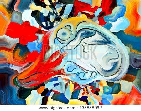 Colorful Ego Shapes
