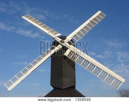 Black & White Windmill