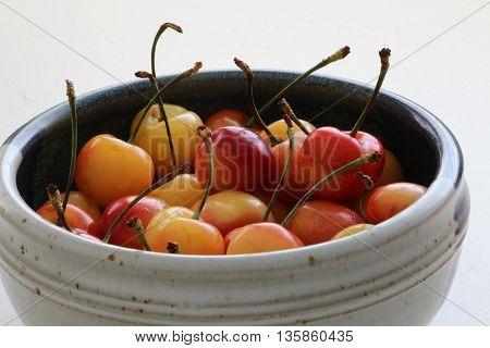Life is like a bowl of Rainier cherries