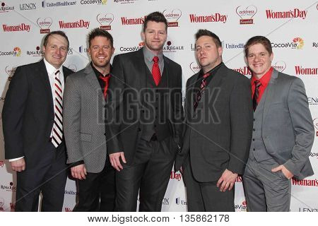NEW YORK-FEB 10, 2015: Members of All That! attend the 12th Annual Woman's Day Red Dress Awards at Jazz at Lincoln Center on February 10, 2015 in New York City.
