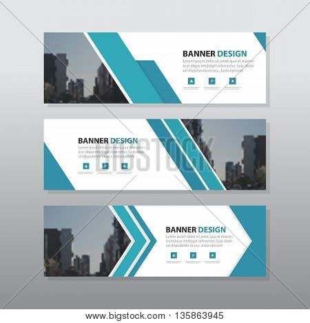 abstract corporate business banner template horizontal advertising business banner layout template flat design set clean modern geometric abstract background layout for website design. simple creative cover header