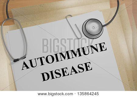 Autoimmune Disease Medical Concept