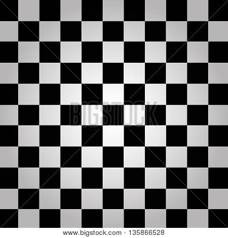 Black And White Chessboard  Background Vector Eps 10
