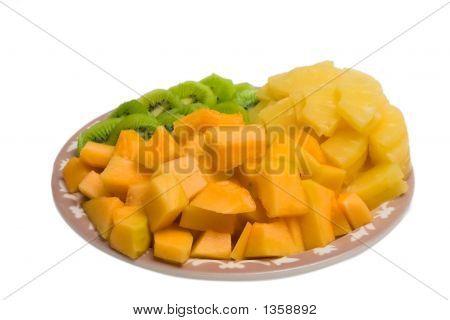 Cantaloupe Tray