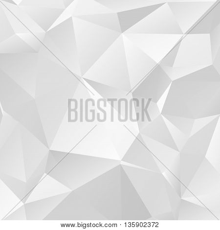 Polygonal abstract background. Vectors low poly. Vector illustration. Triangular low poly graphic. Creased paper vector.