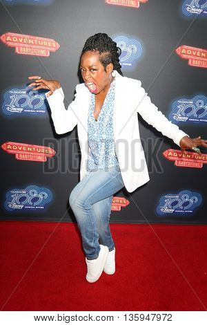 LOS ANGELES - JUN 23:  Tichina Arnold at the 100th DCOM Adventures In Babysitting LA Premiere Screening at the Directors Guild of America on June 23, 2016 in Los Angeles, CA