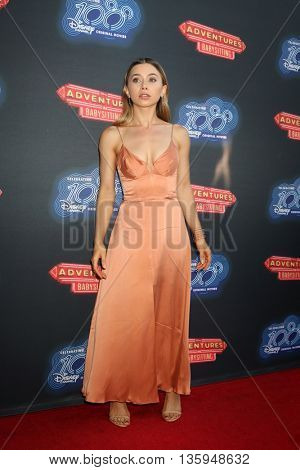 LOS ANGELES - JUN 23:  Olesya Rulin at the 100th DCOM Adventures In Babysitting LA Premiere Screening at the Directors Guild of America on June 23, 2016 in Los Angeles, CA