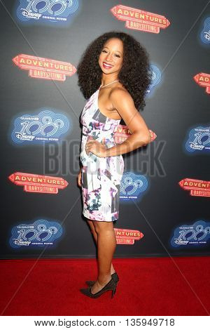 LOS ANGELES - JUN 23:  Monique Coleman at the 100th DCOM Adventures In Babysitting LA Premiere Screening at the Directors Guild of America on June 23, 2016 in Los Angeles, CA