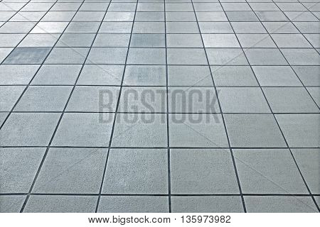 bright slate floor nobody, with light effect