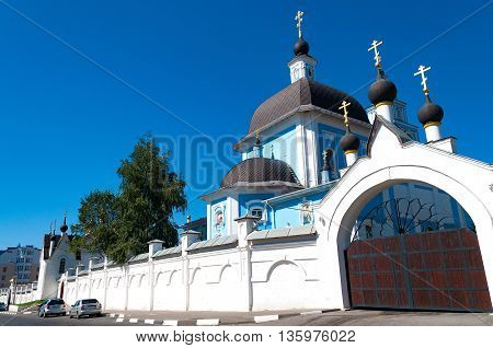 Church of the Virgin Protectress in the nunnery of Martha and Mary in Belgorod Russia