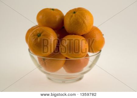 Tangerines In A Bowl 2