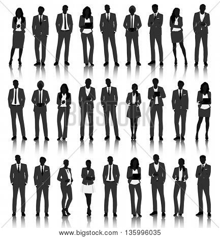Vector UI Illustration Business People Concept