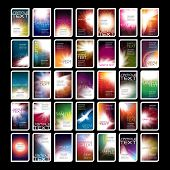 Colorful Mood Board poster
