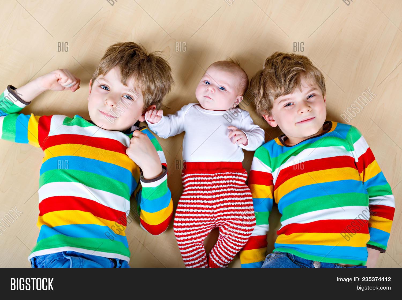 cute identical twin boys