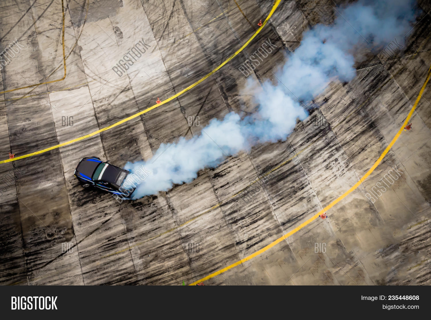 Top View Aerial Drone Image Photo Free Trial Bigstock