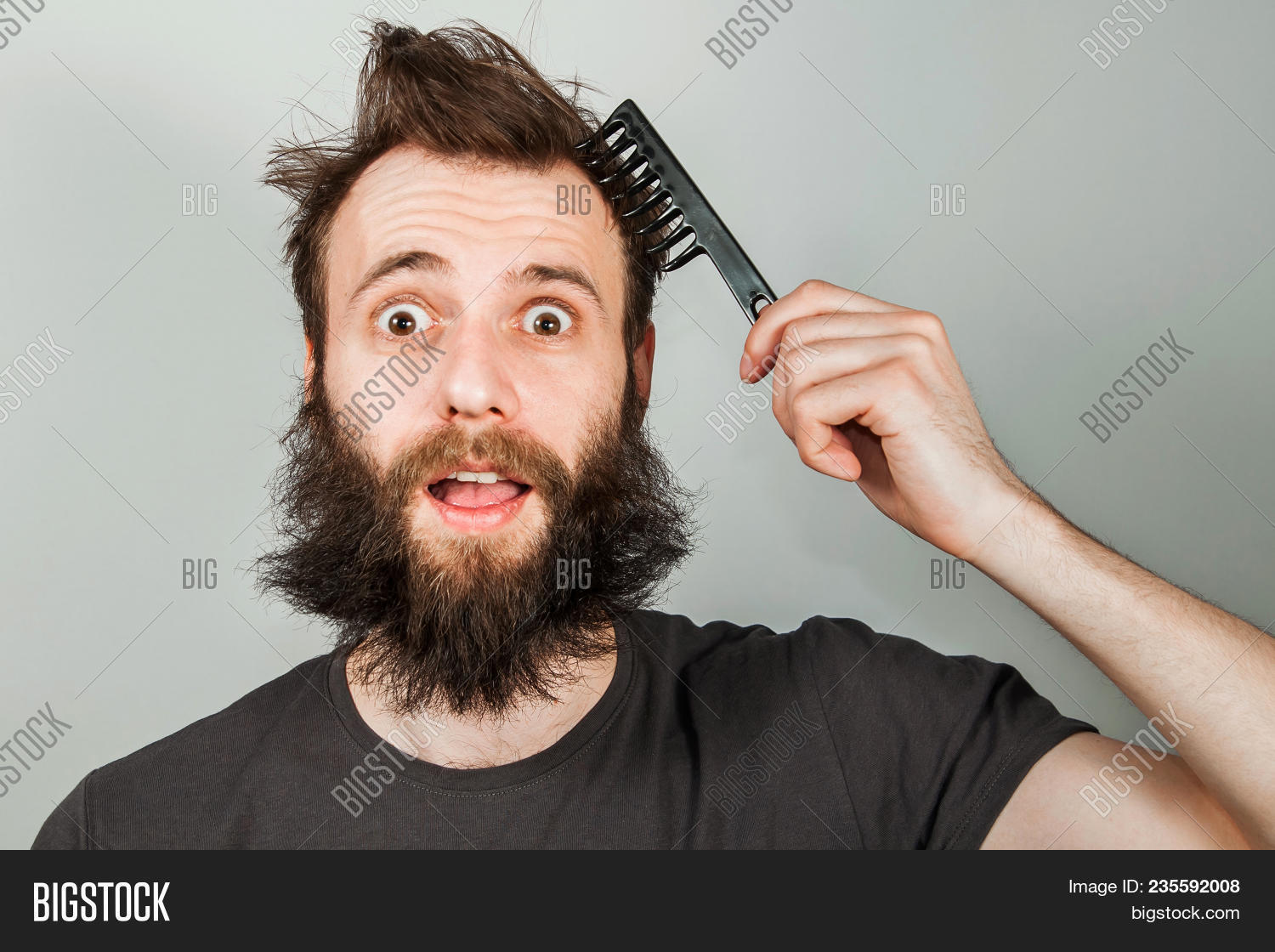 Young Bearded Image Photo Free Trial Bigstock
