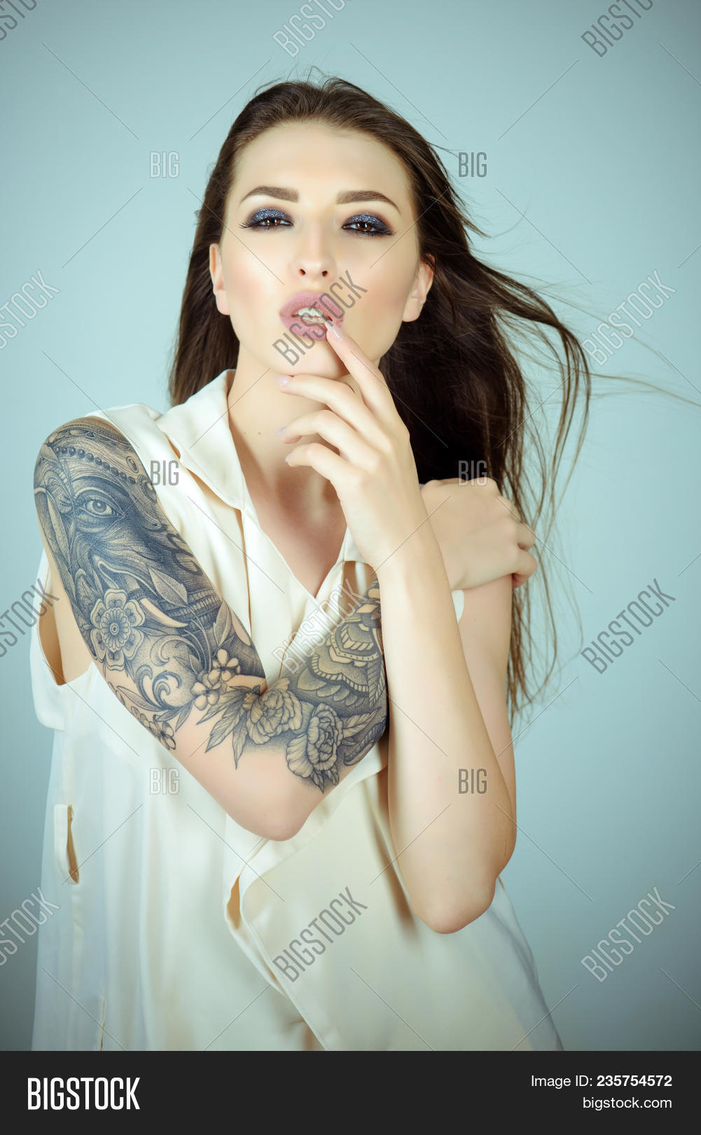 Skincare Body Art Image Photo Free Trial Bigstock