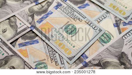 Stack of USD