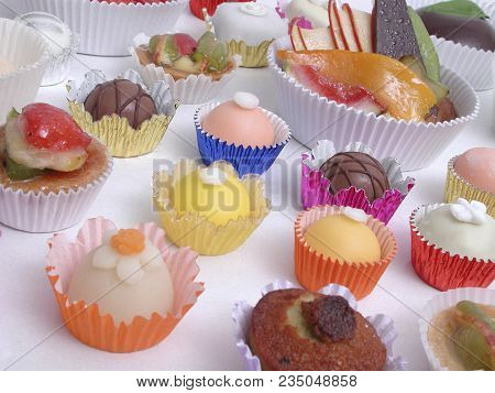 Candies And Delicacy Used In Childrens Birthday Party