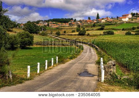 Rural Village Of Lamas De Olo In Vila Real, Portugal