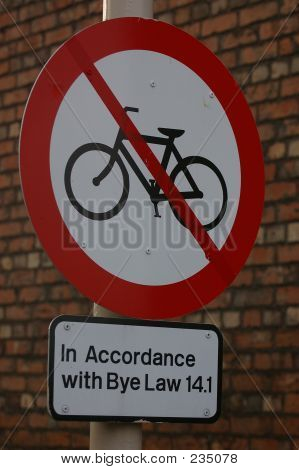 No Cycling 03