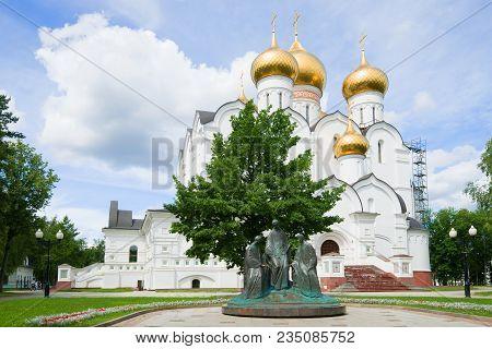 Yaroslavl, Russia - July 17, 2017: Sculpture