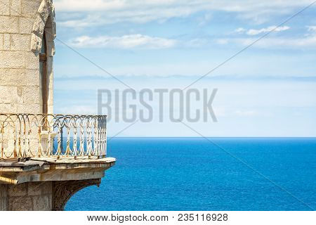 Seascape From The Castle Swallow's Nest In Summer, Crimea