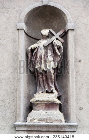 Sculptures On The Old Church