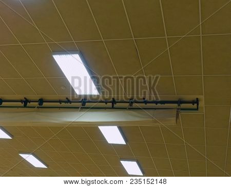 Industrial Lighting Panel Of  Mercury Discharge Tubes.lighting System For Comfortable Light In Workp