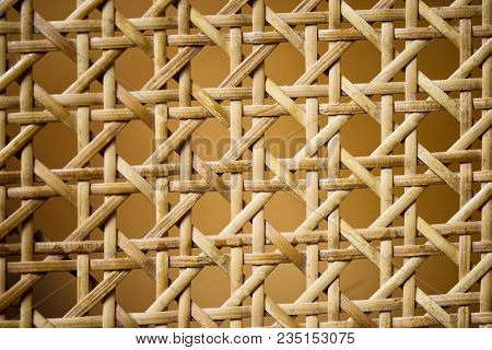 Geometric Basketwork Seamless Pattern Stylish Texture With Repeating Straight Lines Background.