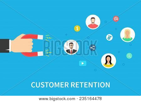 Customer Retention Strategy, Attract Customers, Customer Support And Service, Digital Marketing, Fla