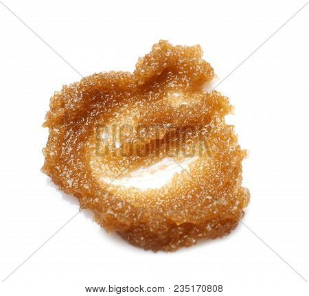 Sample Of Natural Scrub On White Background