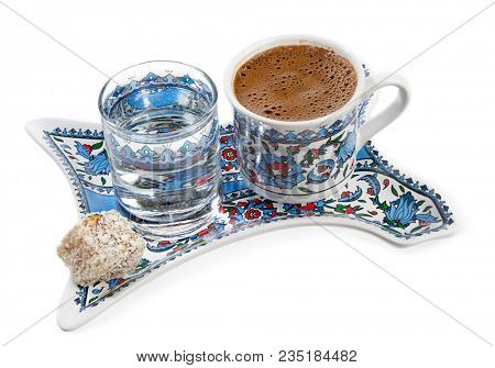Strong Coffee with Turkish Delight